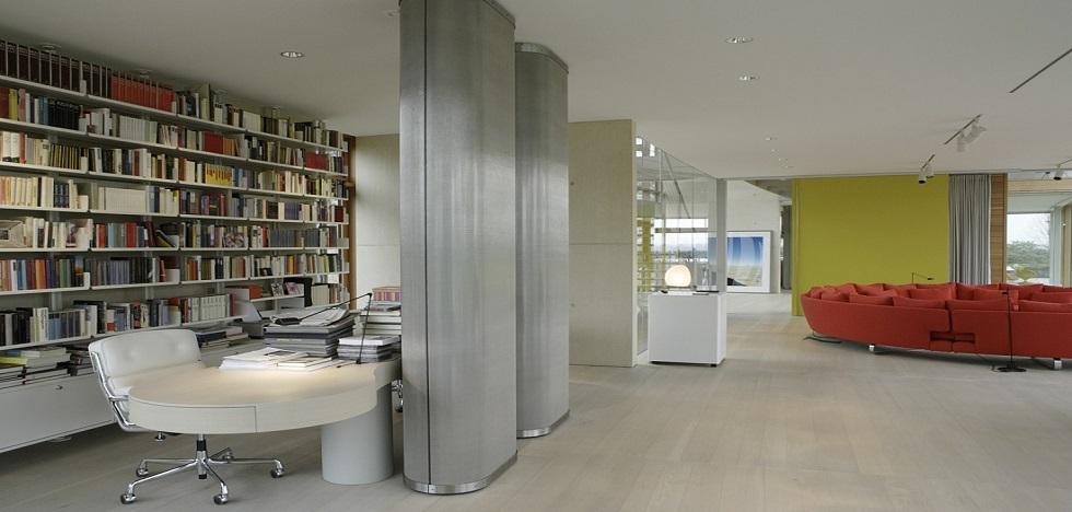 Erco luxusní LED osvětlení ERCO flat obytné prostory domácnosti rezidence