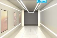 Nové designové LED osvětlení do kanceláře