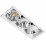 LED designové průmyslové osvětlení ZIPAR TRIO RECESEED