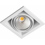 LED designové průmyslové osvětlení ZIPAR UNO RECESEED