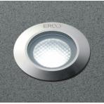 Erco LED orientační světlo zapuštěné do podlahy