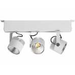 LED designové průmyslové osvětlení ZIPAR TRIO SURFACED